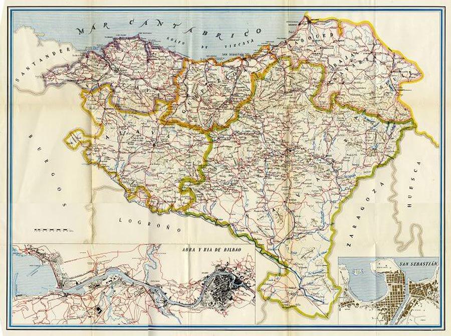 Mapa Euskal Herria Pueblos.Mapas De Euskal Herria Una Nacion Negada Txalaparta Eus