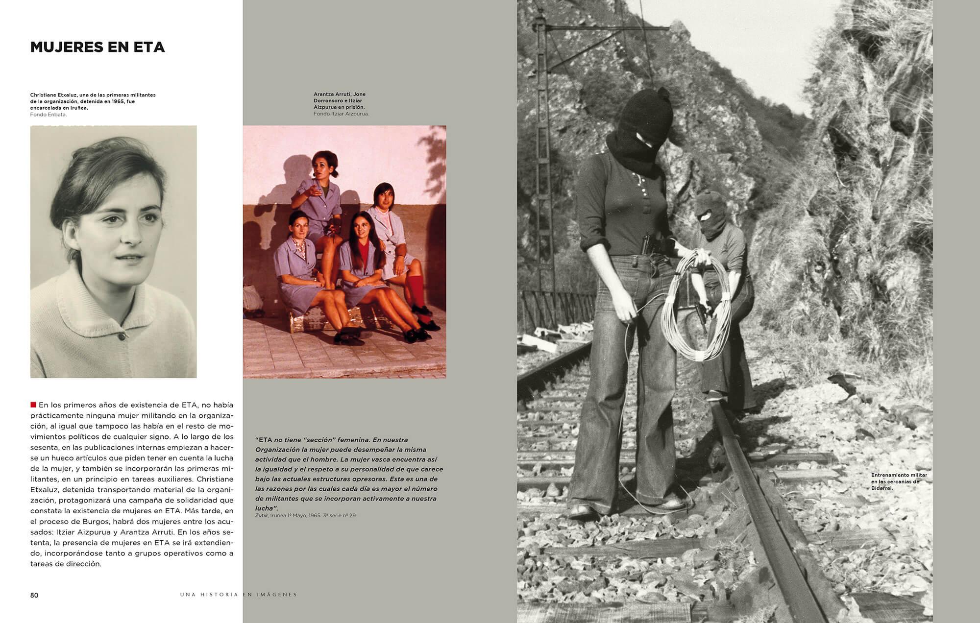 Retrato En Blanco Y Negro Prólogo Y Fotografías Del Libro Eta
